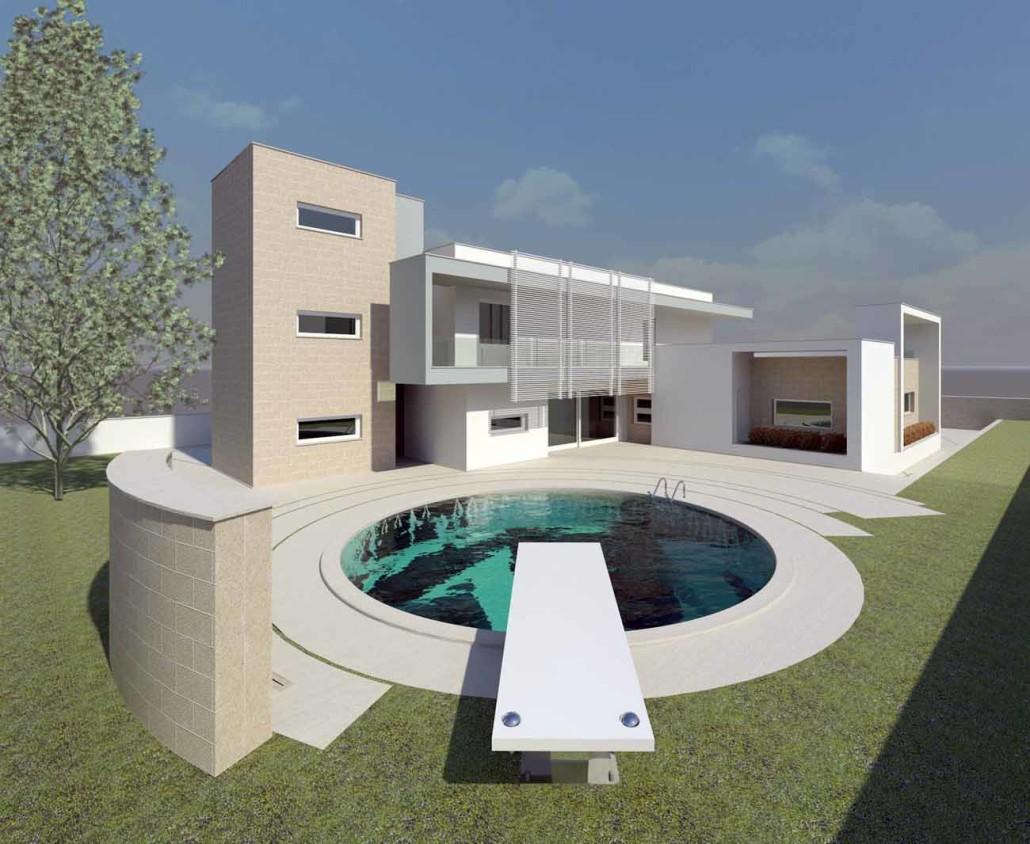 Casa unifamiliare cp casarano le rocco de lentinis - Progetto completo casa unifamiliare ...